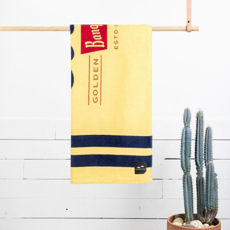 Coors Banquet Golden Colorado Estd 1873 Beach Towel