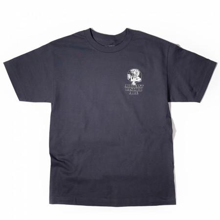 Arrogant Bastard Grey Logo T-Shirt