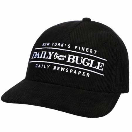 Marvel Comics Spider-Man Daily Bugle Corduroy Pre-Curved Snapback Hat