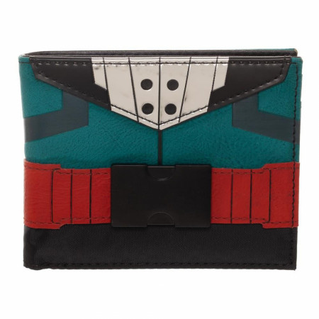 My Hero Academia Midoriya Izuku Deku Suit Up Bi-Fold Wallet