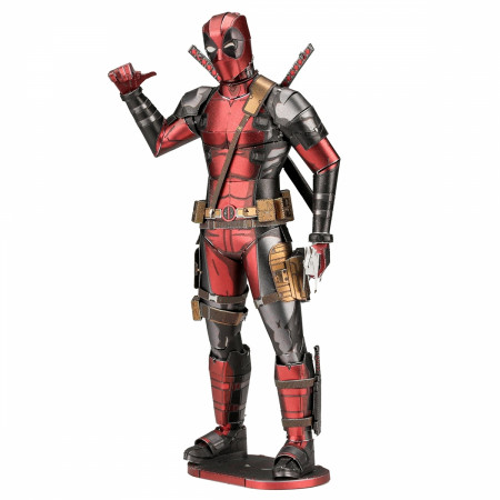 Marvel Deadpool Character Premium Color 3D Metal Earth Model Kit