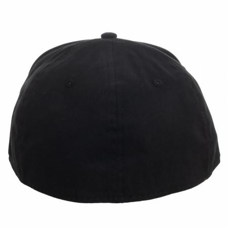 Batman Bat Symbol DC Comics Rubber Weld Flex Fit Hat