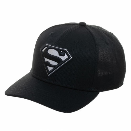 Superman DC Comics Embroidered Symbol Snapback Hat