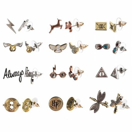Harry Potter 12-Pack Variety Earring Set