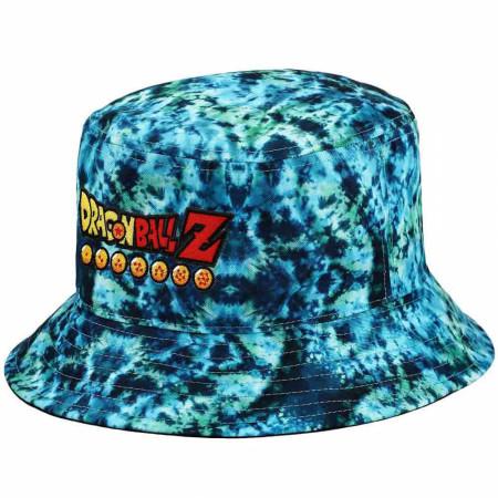 Dragon Ball Z Tie Dye Embroidered Bucket Hat