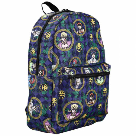 JoJo's Bizarre Adventure Team Bucciarati Characters Laptop Backpack
