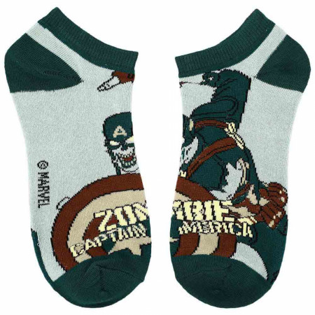 Marvel Comics What If...? Superhero Series 5-Pair Pack of Ankle Socks