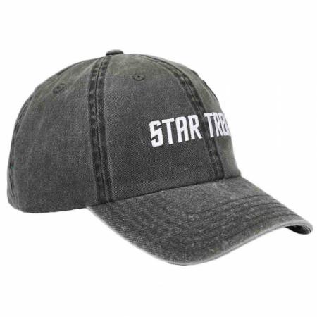 Star Trek USS Enterprise Spock and Captain J. T. Kirk  Adjustable Hat