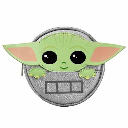 Star Wars the Mandalorian Grogu Pram Pod Coin Pouch