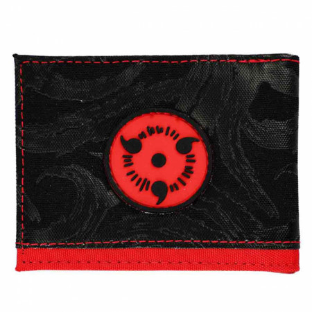 Naruto Uchiha Clan Sharingan Bi-Fold Wallet