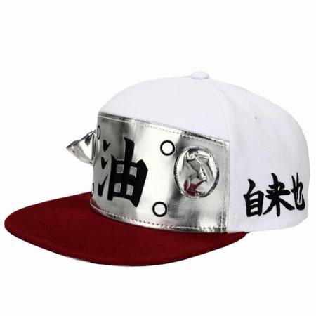 Naruto Sage Cosplay Flat Bill Snapback Adjustable Hat