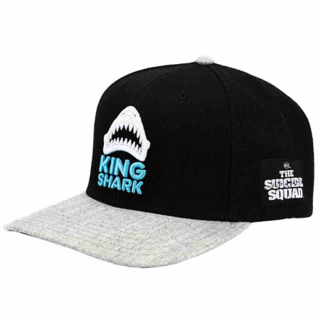 DC Comics Suicide Squad King Shark Pre-Curved Snapback Hat