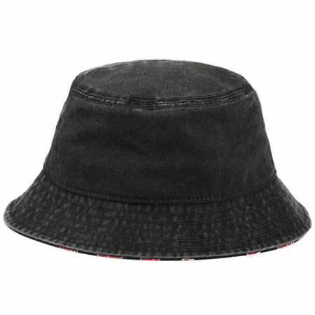 Naruto Akatsuki Shinobi Organization Pigment Dye Bucket Hat