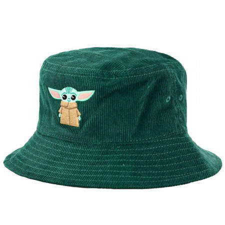 Star Wars The Mandalorian Embroidered Grogu the Child Bucket Hat