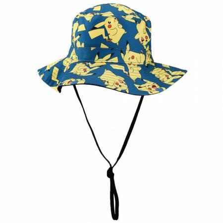 Pokemon Pikachu Character All Over Print Sun Hat