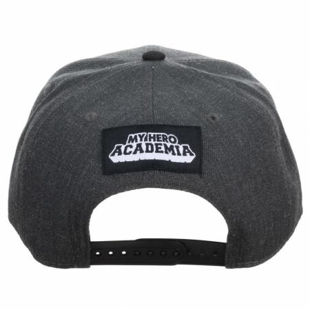 My Hero Academia Deku & Bakugo Sublimated Pre-Curved Snapback Hat