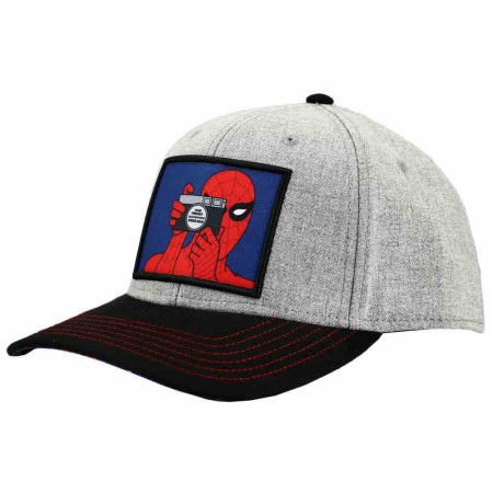 Marvel Comics Classic Spider-Man Patch Pre-Curved Snapback Hat