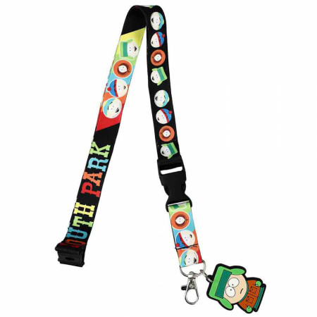 South Park The Boys Lanyard w/Rubber Stan Marsh Character Charm
