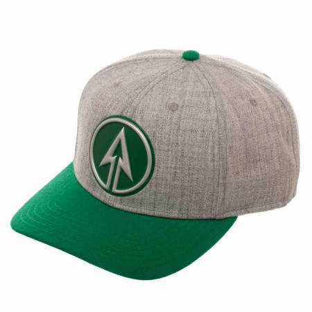 DC Comics Green Arrow Chrome Weld Pre-Curved Bill Snapback Hat