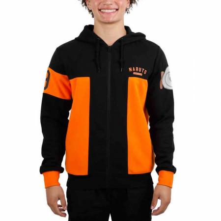 Naruto Uzumaki Naruto Jumpsuit Costume Cosplay Hoodie