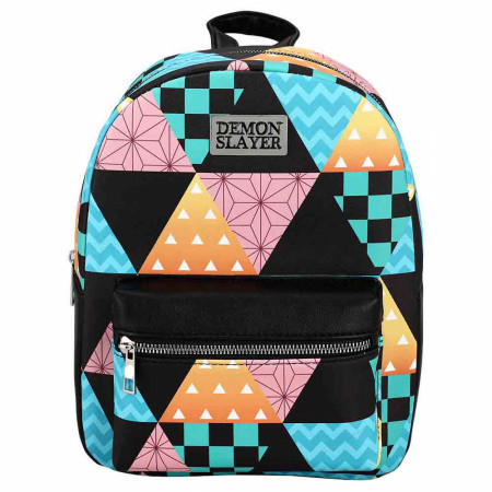 Demon Slayer Patterns Mini Backpack