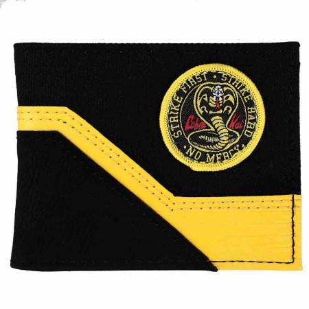 The Karate Kid Cobra Kai Woven Patch Bi-Fold Wallet