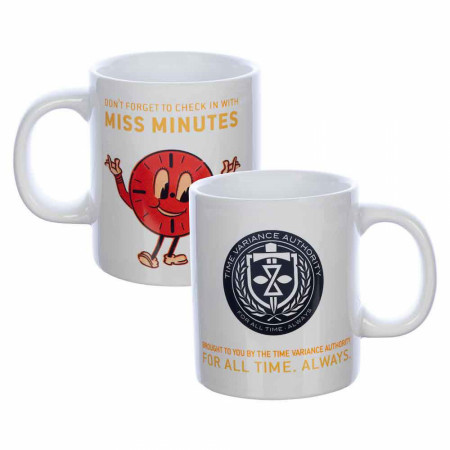 Marvel Studios Loki Series Time Variance Authority 16oz. Ceramic Mug