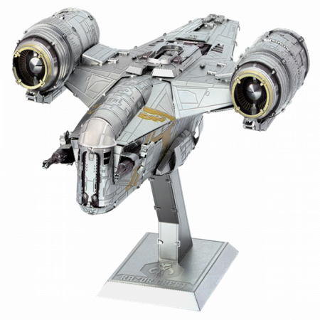 Star Wars The Mandalorian The Razor Crest Premium Metal Earth Model Kit
