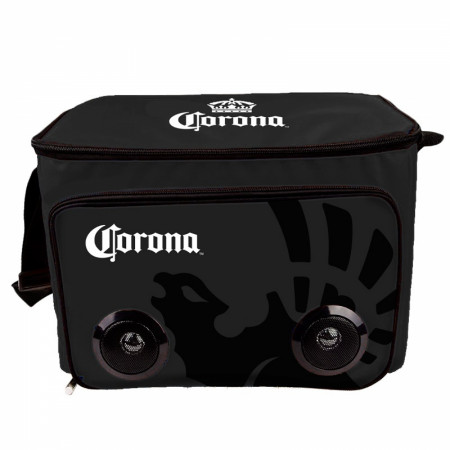 Corona Extra Soft Cooler Bag With Built In Bluetooth Speakers
