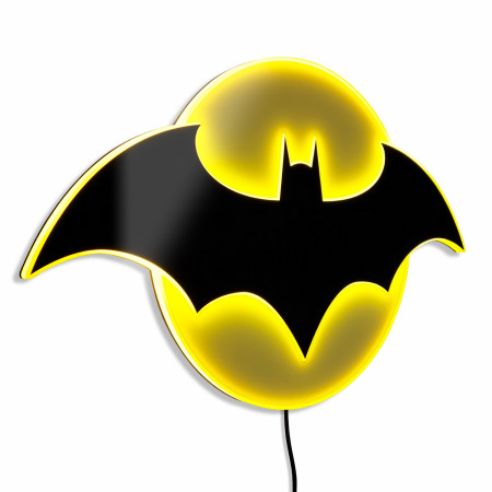 Batman Symbol Illuminated Wall Art