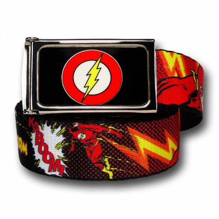 Flash Graphic Adult Web Belt