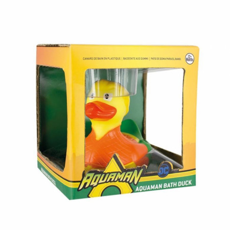 Aquaman Rubber Ducky Bath Duck