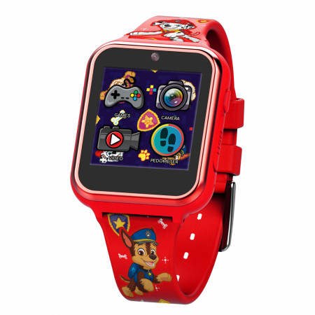 Paw Patrol Red Accutime Interactive Kids Watch