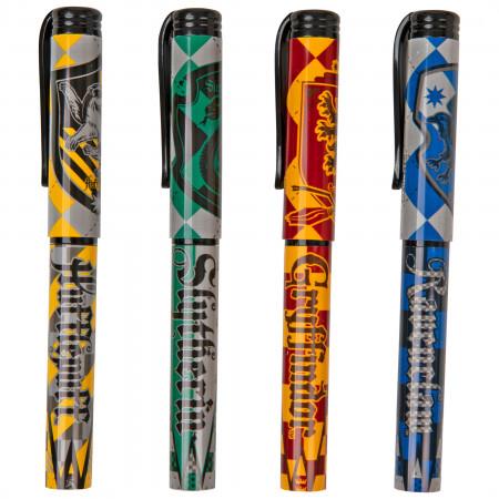 Harry Potter House Crest Sigils Ballpoint Pen Set