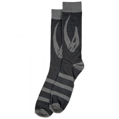 Star Wars The Mandalorian Mudhorn Crest Crew Socks