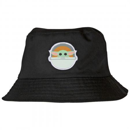 Star Wars The Mandalorian The Child Grogu Reversible Bucket Hat