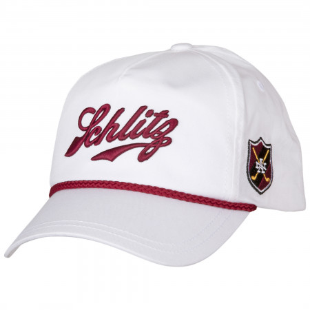 Schlitz Beer Rope Brimmed Adjustable Snapback Hat