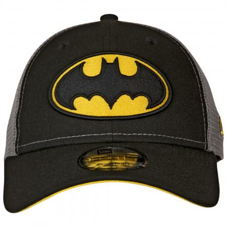 Batman Symbol Trucker New Era 9Forty Adjustable Hat