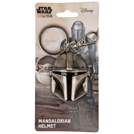 Star Wars Mandalorian Helmet Keychain