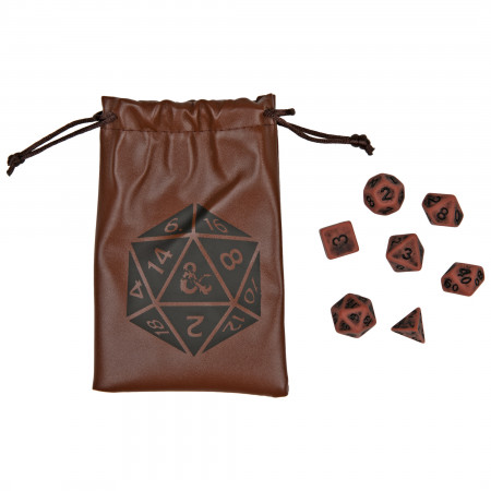Dungeons & Dragons Dice Set and Bag