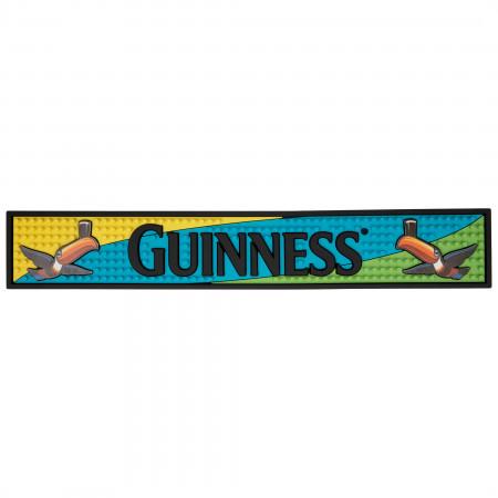 Guinness Toucan PVC Bar Mat