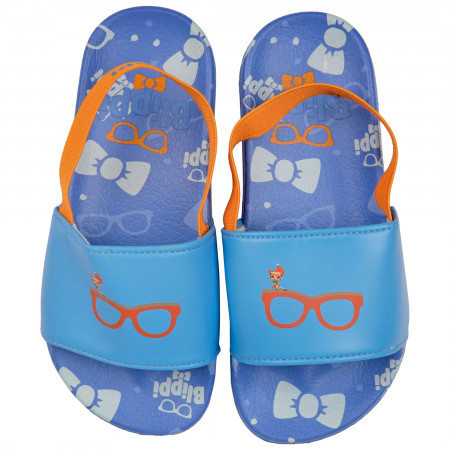 Blippi Character and Glasses Toddlers Sandals