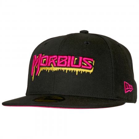 Morbius The Living Vampire Bleeding Logo New Era 59Fifty Fitted Hat