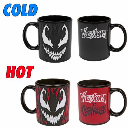 Venom vs Carnage Color Changing 11 Ounce Mug