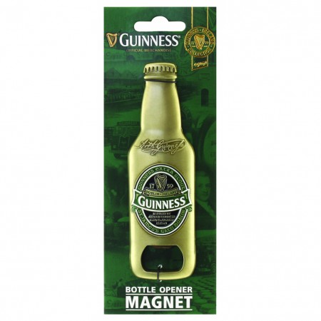 Guinness Ireland 3d Bottle Opener Magnet