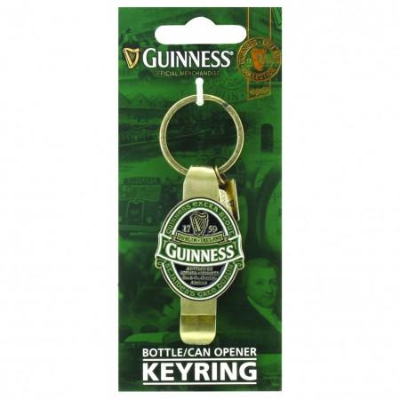 Guinness Ireland Bottle Opener Keychain