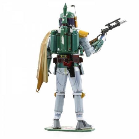 Star Wars Boba Fett Character Premium Color 3D Metal Earth Model Kit