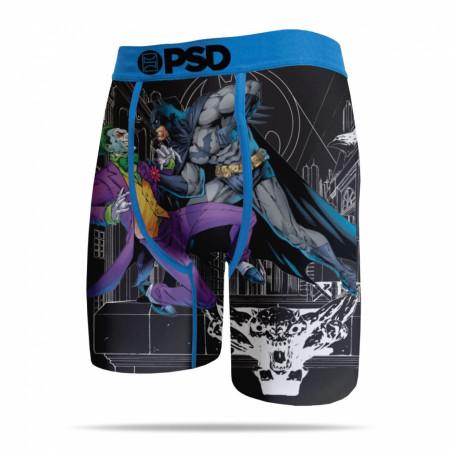 DC Comics Batman vs. Joker on the Ledge Men's Boxer Briefs