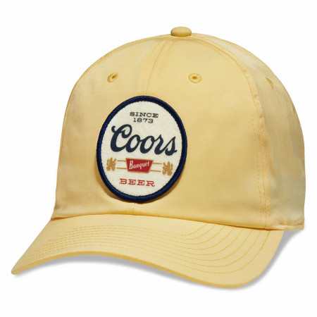 Coors Banquet Beer Since 1873 Logo Adjustable Hat