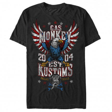 Gas Monkey Garage Rider Nation Black T-Shirt